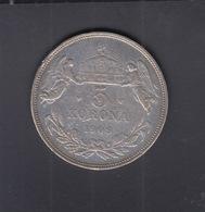Hungary 5 Korona 1909 - Ungarn