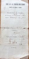 Mine De La Ferriere - Aux - Etangs 1925 - Alte Papiere