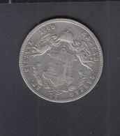 Hungary  1 Forint 1869 - Hongrie