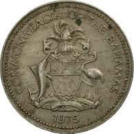 Monnaie, Bahamas, Elizabeth II, 5 Cents, 1975, Franklin Mint, TB+ - Bahamas