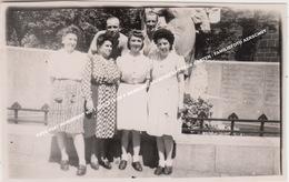 FOTO 1947 MONUMENT WO I SCULPTEUR P BRAECKE, ARCHITECT HECTOR CRETEN / GEANIMEERDE FAMILIEFOTO AERSCHOT - Aarschot