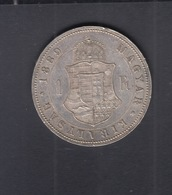 Hungary  1 Forint 1889 - Hungría