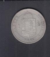 Hungary  1 Forint 1879 - Hungría