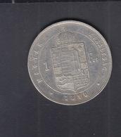 Hungary  1 Forint 1870 - Ungarn