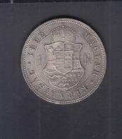 Hungary  1 Forint 1892 - Hungría