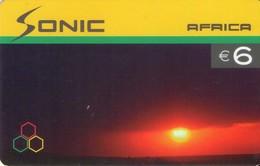 TARJETA TELEFONICA DE ESPAÑA, (PREPAGO). SONIC AFRICA, PRE-SON-0001. (389). - Espagne