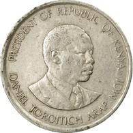 Monnaie, Kenya, 50 Cents, 1989, British Royal Mint, TTB, Copper-nickel, KM:19 - Kenya