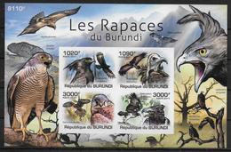 BURUNDI  BF 149  * *  NON DENTELE Oiseaux Rapaces - Aigles & Rapaces Diurnes