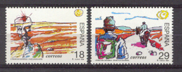 Spain 1994. Personajes De Ficcion Ed 3303-04 (**) Mi 3164-3165 - 1931-Hoy: 2ª República - ... Juan Carlos I