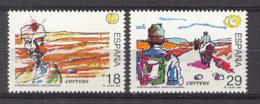 Spain 1994. Personajes De Ficcion Ed 3303-04 (**) Mi 3164-3165 - 1991-00 Nuevos & Fijasellos