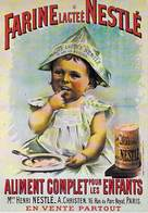 PUB Publicité NUGERON   BB 5 FRIANDISES - FARINE Lactee NESTLE  *PRIX FIXE - Advertising