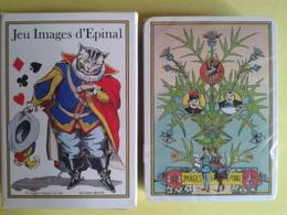 IMAGES D'EPINAL. Jeu De 52 Cartes + 2 Jokers. Usagé Bon état. Boite Carton - Playing Cards (classic)