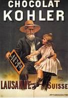 PUB Publicité NUGERON   BB 9 FRIANDISES - CHOCOLAT KOHLER Lausanne Suisse   *PRIX FIXE - Advertising