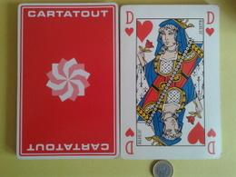 CARTATOUT. Jeu Grand Format De 32 Cartes. Usagé Sans étui. - Playing Cards (classic)