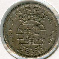 Angola 2 1/2 2,5 Escudos 1967 KM 77 - Angola