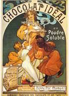 PUB Publicité NUGERON   BB 7 FRIANDISES Chocolat IDEAL *PRIX FIXE - Advertising