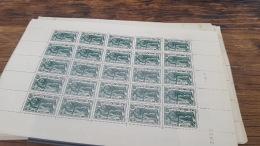 LOT 418813 TIMBRE DE FRANCE NEUF** LUXE FEUILLE N°504 VALEUR 32,5 EUROS BLOC - Feuilles Complètes