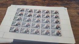 LOT 418815 TIMBRE DE FRANCE NEUF** LUXE FEUILLE N°496 VALEUR 50 EUROS BLOC - Feuilles Complètes