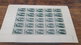 LOT 418820 TIMBRE DE FRANCE NEUF** LUXE FEUILLE N°613 VALEUR 45 EUROS BLOC - Feuilles Complètes