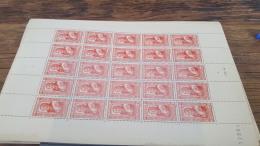LOT 418828 TIMBRE DE FRANCE NEUF** LUXE FEUILLE N°590 VALEUR 55 EUROS BLOC - Feuilles Complètes