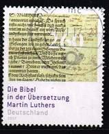 Bund 2017, Michel# 3277 O Die Bibel In Der Übersetzung Martin Luthers - Gebraucht
