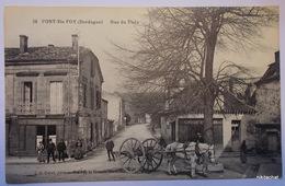 PORT SAINTE FOY-Rue Du Fleix - Altri Comuni