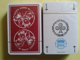 Société Canine De L'EST. Jeu De 52 Cartes. Neuf Sous Blister - Playing Cards (classic)