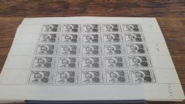 LOT 418847 TIMBRE DE FRANCE NEUF** LUXE FEUILLE N°754 VALEUR 20 EUROS BLOC - Full Sheets