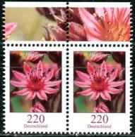 BRD - Mi 3414 Oberrand Paar - ** Postfrisch (K) - 220C   Blumen, Hauswurz - Ausgabe 11.10.2018 - Nuovi