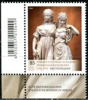 BRD - Mi 3416 ECKE LIU - ** Postfrisch (G) - 85C  Museumsschätze - Ausgabe 11.10.2018 - BRD