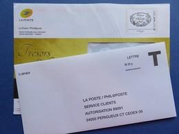 Philaposte - Enveloppe Pré Timbrée Monde 100 G - Trésors De La Philatélie - Phil@poste + Enveloppe Réponse T - Postwaardestukken