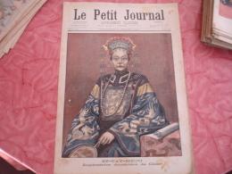 1900 Chine China Sy Tay Heou Imperatrice Douairiere Fete Populaire Deschanel  Le Petit Journal Illustre - Journaux - Quotidiens