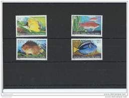 COCOS 1979 - YT N° 34/37 NEUF SANS CHARNIERE ** (MNH) GOMME D'ORIGINE LUXE - Cocos (Keeling) Islands