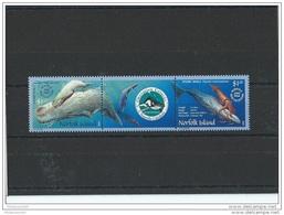 NORFOLK 2002 - YT N° 755/756 NEUF SANS CHARNIERE ** (MNH) GOMME D'ORIGINE LUXE - Ile Norfolk