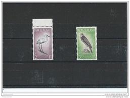 NOUVELLE ZELANDE 1961 - YT N° 405/406 NEUF SANS CHARNIERE ** (MNH) GOMME D'ORIGINE LUXE - Neufs