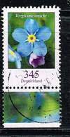 Bund 2017, Michel# 3324 O Blumen: Vergissmeinicht - Usati