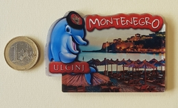 Magnet Montenegro, Ulcinj, Ulqini, Dulcigno - Magnets