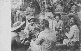 UNE PARTIE DE CARTES A TAHITI - Tahiti