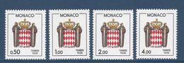 Monaco Taxe - YT N° 83 à 86 - Neuf Sans Charnière - 1986 - Strafport