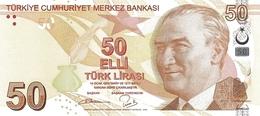 Turkey P.225b 50 Lirasi 2017   Unc - Turchia