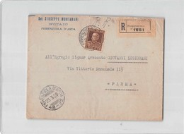 6940 NOTAIO MONTANATI FIORENZUOLA D'ARDA X PARM A - 1900-44 Victor Emmanuel III