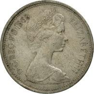 Monnaie, Grande-Bretagne, Elizabeth II, 5 New Pence, 1969, TB+, Copper-nickel - 1971-… : Monnaies Décimales