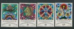 BL3-266 LIECHTENSTEIN 1976 YV 599-602 TIERKREISZEICHEN, DIERENRIEM, ZODIAC SIGNS. MNH, POSTFRIS, NEUF**. - Astrologie