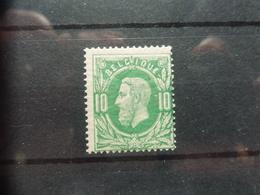 Timbre Belgique Belgie 30 Luxe ** Gomme D'origine - 1869-1883 Léopold II