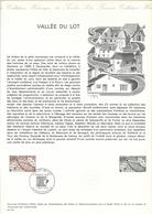 DOCUMENT OFFICIEL N° 21/74 VALLEE DU LOT - COTE 2009 = 6.00 € - Documents De La Poste