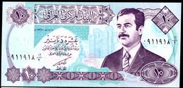 IRAQ : 10 Dinars - P81 -  1992 - UNC - Iraq