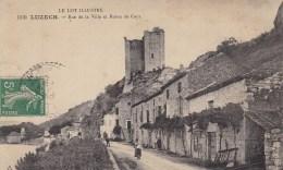 LUZECH -46 - Rue De La Ville Et Route De Cayx - Luzech