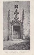 LUZECH -46 -  Porte Principale De La Chapelle De L'Ile - Luzech