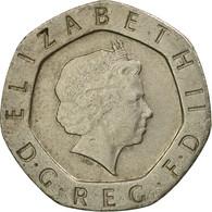 Monnaie, Grande-Bretagne, Elizabeth II, 20 Pence, 1998, TTB, Copper-nickel - 1971-… : Monnaies Décimales
