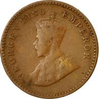 Monnaie, INDIA-BRITISH, George V, 1/12 Anna, 1 Pie, 1936, TTB, Bronze, KM:509 - India